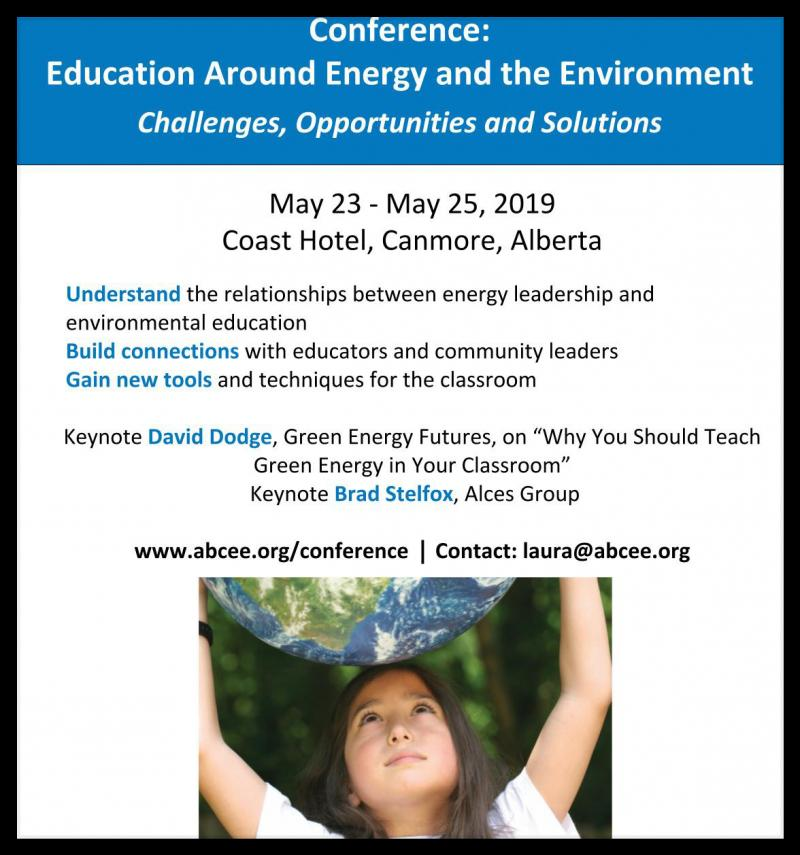 Students must learn about the environment and energy to prepare for success in their futures, but teachers and educators have told us that their challenges include lack of resources, time and funding, and lack of subject knowledge. Recharge 2019 will provide solutions to these challenges, help to prepare your students for future jobs - and help them to create a sustainable future.