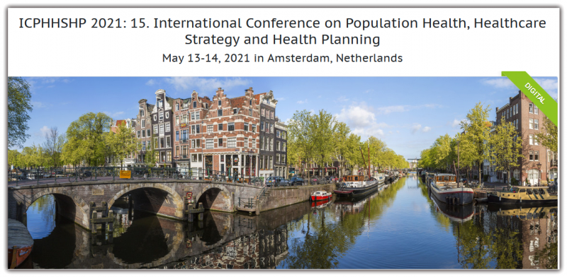 International Conference on Population Health, Healthcare Strategy and Health Planning aims to bring together leading academic scientists, researchers and research scholars to exchange and share their experiences and research results on all aspects of Population Health, Healthcare Strategy and Health Planning. It also provides a premier interdisciplinary platform for researchers, practitioners and educators to present and discuss the most recent innovations, trends, and concerns as well as practical challenges encountered and solutions adopted in the fields of Population Health, Healthcare Strategy and Health Planning