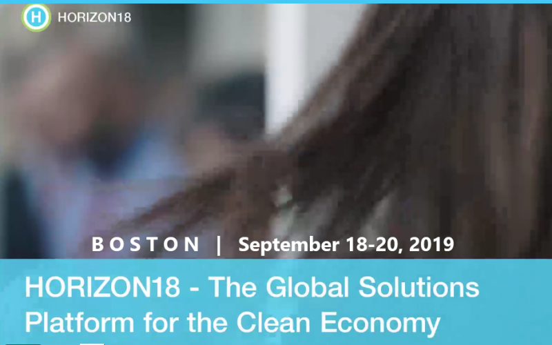 Championing Momentum for the Clean Economy  Horizon19 is a global event-driven platform that harnesses the international movement towards a clean economy. With 20,000 unique and growing contacts in the climate change space stemming from the inaugural event, the momentum to act on clean energy solutions is rapidly accelerating. Horizon19 is the platform to uniquely offer resolutions to act on climate commitments in concert with the Paris Agreement, 2030 Sustainability Goals, We Are Still In, and America's Pledge.