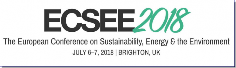 The European Conference on Sustainability, Energy & the Environment 2018 (ECSEE2018) is a multidisciplinary conference held concurrently with The European Conference on the Social Sciences 2018 (ECSS2018). Keynote, Featured and Spotlight Speakers will provide a variety of perspectives from different academic and professional backgrounds. Registration for either of these conferences permits attendance in both.  In conjunction with our Global Partners, including the University of Sussex and Birkbeck, University of London, we look forward to extending you a warm welcome in 2018.