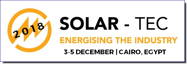 FIND OUT HOW YOU CAN DEVELOP YOUR BUSINESS AT NORTH AFRICA's LEADING SOLAR ENERGY EVENT