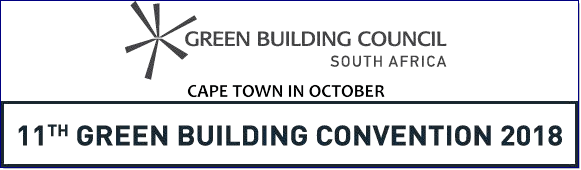 The Green Building Convention is the definitive event on the sustainability calendar and will take place in Cape Town in 2018.  This year the convention theme is: THE RACE TO ZERO.  We'll be focusing on buildings that achieve net zero carbon emissions, as well as building with net-zero water, waste and ecological impact.