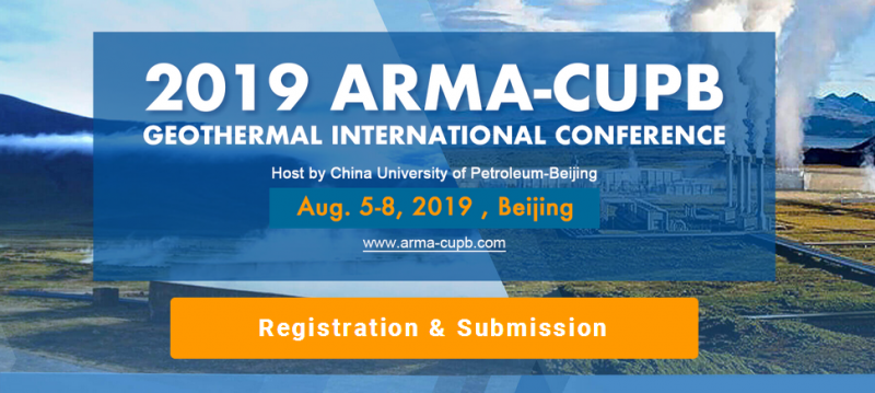 "The Organizing Committee of 2019 ARMA International Conference in Beijing warmly invites you to attend the conference during Aug 5-8, 2019, in Beijing, China. The theme of the conference is ""From conventional hydrothermal systems to enhanced geothermal energy: Technology Sharing with the Oil and Gas Industry"". As the conference chairmen, it is a great honor for us to make an invitation for all of you to this exciting event, with the cordial hospitality and the warm welcome of Beijing."