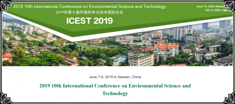 The primary goal of the conference is to promote research and developmental activities in Environmental Science and Technology. Another goal is to promote scientific information interchange between researchers, developers, engineers, students, and practitioners working in China and abroad. The conference will be held every year to make it an ideal platform for people to share views and experiences in Environmental Science and Technology and related areas.