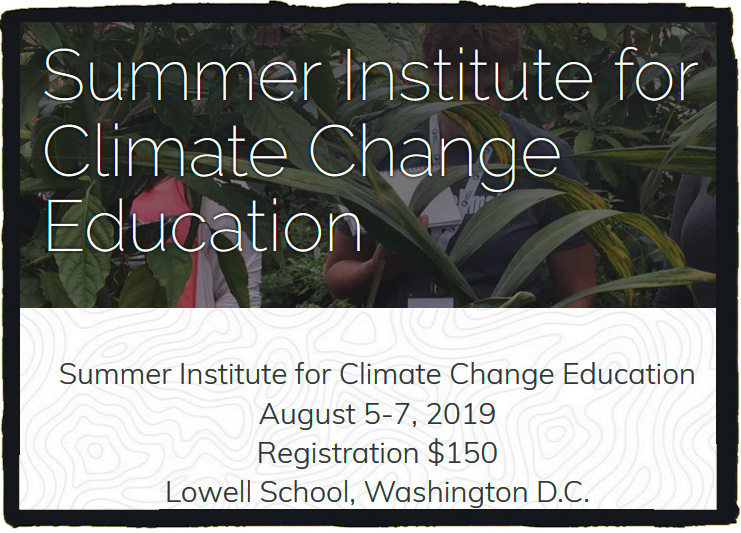 Join a network of teachers from across the country dedicated to bringing climate change education into Humanities classrooms! Content will be focused for grades 6-12 teachers in Social Studies/ELA/Political Science/Environmental Studies subjects.