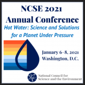 NCSE 2021 will explore the links between the changes in Earth's physical systems and its social institutions by engaging leaders from the sciences, education, government, policy, business, and civil society.