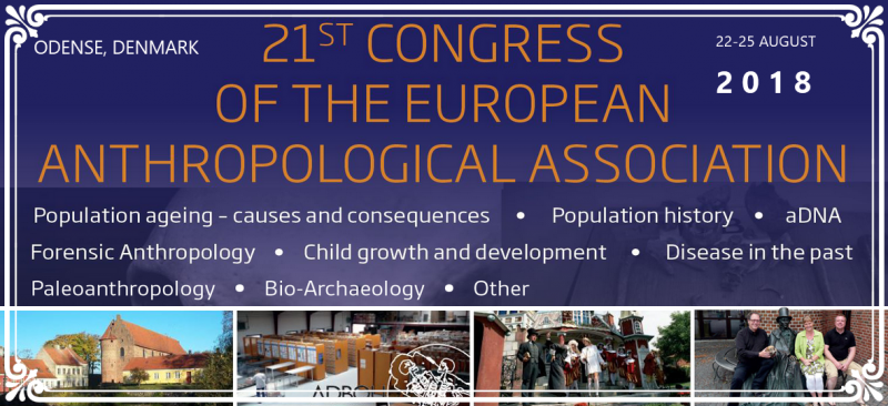 Welcome to the 21st Congress of European Anthropological Association 2018 - Welcome to University of Southern Denmark in Odense, and to ADBOU   ADBOU is the Department of Anthropology, Institute of Forensic Medicine at University of Southern Denmark in Odense, one of two state institutions that curates human skeletons from archaeological excavations. The collection stores the remains of more than 16.000 skeletons primarily from the Danish medieval period.  We are happy to welcome you to the Hans Christian Andersen hometown of Odense, situated in the centre of Denmark.