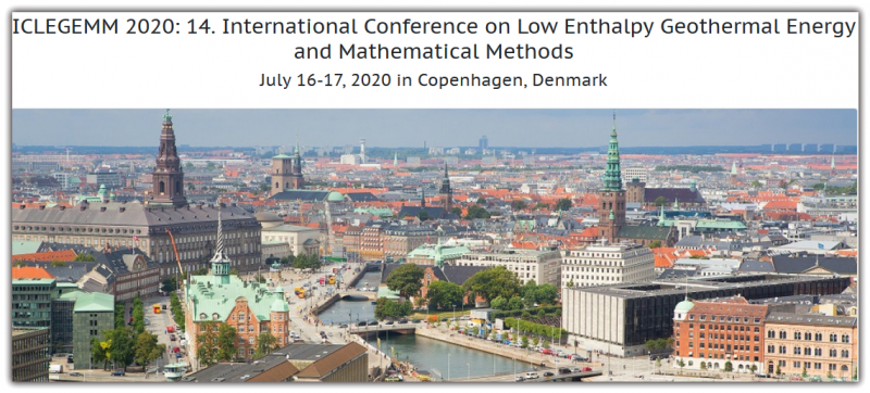 ICLEGEMM 2020: 14. International Conference on Low Enthalpy Geothermal Energy and Mathematical Methods aims to bring together leading academic scientists, researchers and research scholars to exchange and share their experiences and research results on all aspects of Low Enthalpy Geothermal Energy and Mathematical Methods. It also provides a premier interdisciplinary platform for researchers, practitioners and educators to present and discuss the most recent innovations, trends, and concerns as well as practical challenges encountered and solutions adopted in the fields of Low Enthalpy Geothermal Energy and Mathematical Methods