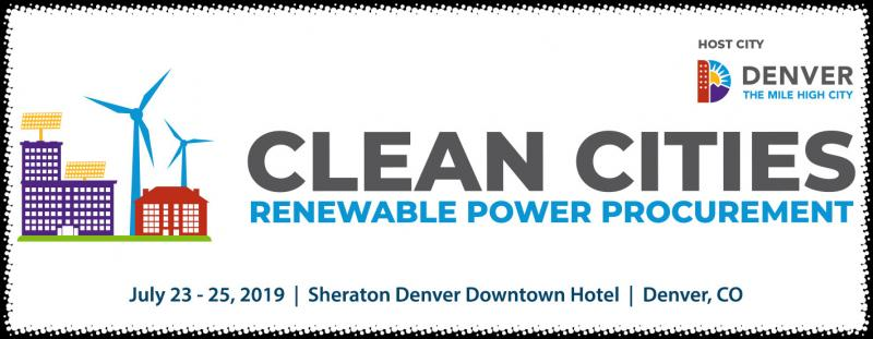 The Clean Cities Renewable Power Procurement Summit, hosted by the City of Denver, has been organized to help cities navigate the many complex considerations involved in procuring renewable power. Bringing together executives from cities across the country who are actively involved in the process, procurement consultants and renewable energy suppliers, the meeting will provide guidance and discussion of how cities should weigh their available options, formulate priorities and strategies, evaluate the economics and risks, and gain political and legal support.  Because cities need to develop an informed understanding of renewable power procurement, the meeting has been designed in conjunction with our Planning Committee to be of maximal educational value. This is a unique opportunity to engage with the most sophisticated thinking about renewable energy procurement as well as profiting from the real world experience of your peers. You will gain valuable insights and best practices to implement as you pursue own city's environmental goals.