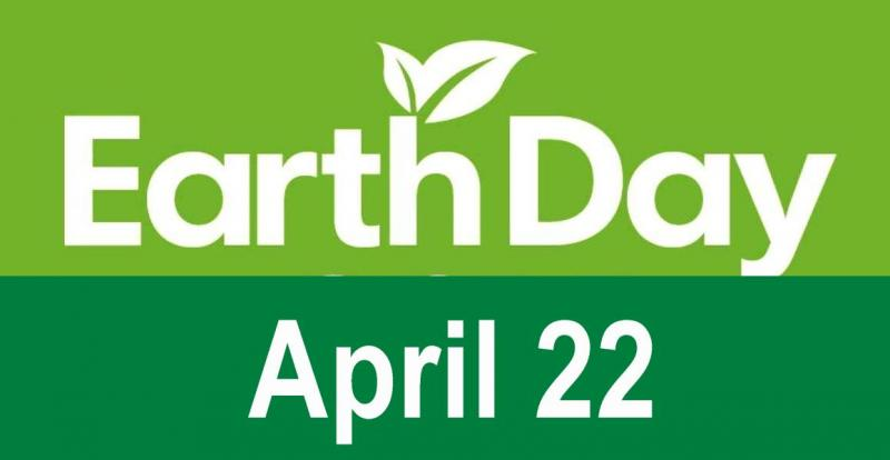 Earth Day every April 22