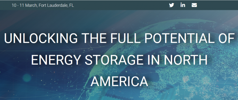 Following the successful launch of Energy Storage Summit USA, we are pleased to announce its return for a 2nd year. Renowned for its quality, breadth and expertise, this event features an all-encompassing range of strategic and technical sessions on the adoption and deployment of storage.  Key market drivers such as the falling price of lithium-ion batteries, investment in electric vehicle infrastructure, FERC Order 841, government incentives, grid modernization, transition from dependency on the networks to a desire for autonomy and intermittent renewable sources, all add to an exciting time for the Energy Storage value chain.