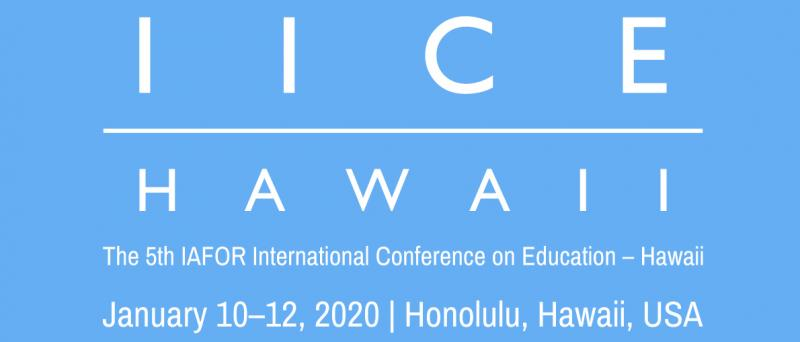 The 5th IAFOR International Conference on Education – Hawaii (IICEHawaii2020) will be held alongside The 4th IAFOR International Conference on Sustainability, Energy & the Environment – Hawaii (IICSEEHawaii2020), and many of the sessions will concentrate on areas at the intersection of education and sustainability. In keeping with IAFOR's commitment to interdisciplinary study, delegates at either conference are encouraged to attend sessions in other disciplines. Registration for either conference will allow delegates to attend sessions in the other.
