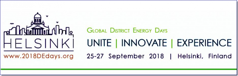 Euroheat & Power and Finnish Energy have teamed up for the 2018 Global District Energy Days. During this two and half days event you will get the opportunity to discuss major issues of importance for European and Global District Energy sectors across a range of technical and commercial issues; from resource assessment and innovative technological design, to market and policy developments.     Join this lively conference and be in the driver's seat in discussing the next steps in DHC for tomorrow's energy need! Don't miss out and sign up for this event right now – participation is limited and exhibition and participation tickets are given away on a first come, first serve basis!