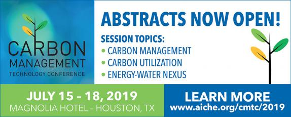 The 2019 Carbon Management Technology Conference (CMTC 2019) will focus on carbon capture, utilization, and storage (CCUS) technologies that provide options for lowering greenhouse gas emissions while maintaining fuel diversity for sustainable growth.