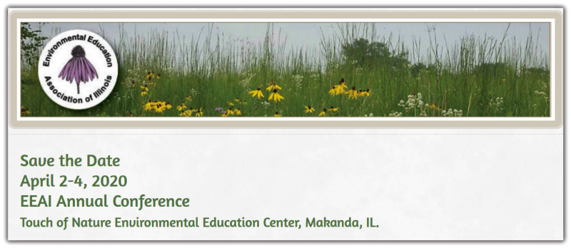 Please join us for the EEAI 2020 conference at Southern Illinois University's Touch of Nature Environmental Center. You will find yourself by the shores of Little Grassy Lake, one of three beautiful lakes in Crab Orchard National Wildlife Refuge. Touch of Nature is home to two camps and 90 buildings on 3,100 acres of recovering hardwood forest. It shares a boundary with Giant City State Park and sits across the water from Crab Orchard Wilderness Area.   One of only eleven sites ever designated by the National Park Service as a National Environmental Education Landmark, Touch of Nature Environmental Center has been providing environmental education programs to a diverse set of populations for over sixty-five years. At this conference, prepare to dive deep with hands-on environmental education workshops, adventure-filled field trips, and quiet moments to unwind in nature. EEAI Southern Region is excited to host this conference and welcomes you to explore our backyard!