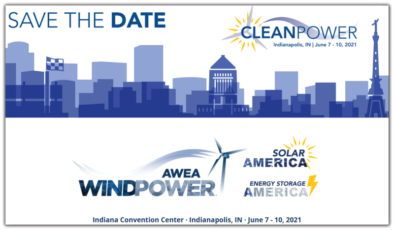 CLEANPOWER offers the most efficient and targeted event for utility-scale renewable companies in the Western Hemisphere. This expanded and targeted business development event will help your company reach new heights. Join us for this exciting new chapter June 7 – 10, 2021 in Indianapolis!