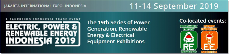 Electric Power & Renewable Energy Indonesia, ASEAN's largest Electric & Power exhibition takes place in South East Asia's most dynamic market, Indonesia. The last show attracted 919 companies and 17,406 trade visitors.  The exhibition provides an ideal platform for key decision makers within the industry. Allowing major equipment importers, distributors and agents to network and discuss new business opportunities in this rapidly evolving industry.