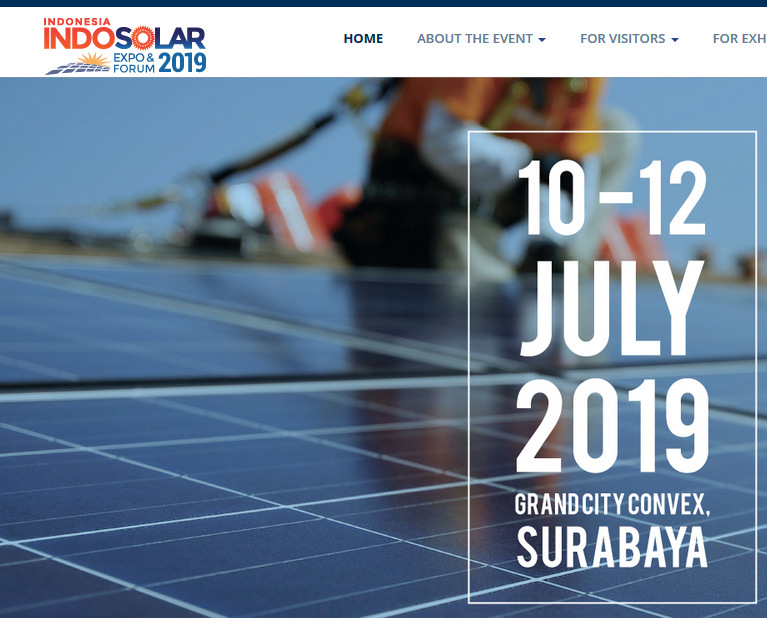 Expanding your Solar Business in Southeast Asia's Largest Market!  The 3 days main industry event (in integrating with 4th Indonesia Building Mechanical & Electrical Expo and Indonesia Smart Building Smart City) is set to display full spectrum of products, technology, energy efficiency,and solutions for home, city, and building.