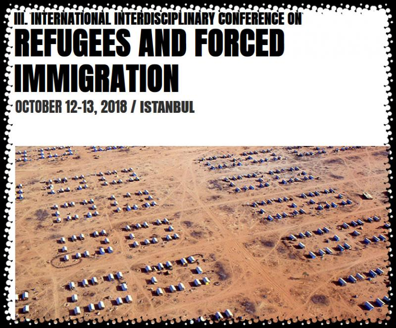 REFUGEES AND FORCED IMMIGRATION '18 / III. International Interdisciplinary Conference on Refugee and Forced Immigration Studies in Social Sciences, Humanities and Art will be held at Nippon Meeting Halls in Istanbul. The conference is coordinated by DAKAM (Eastern Mediterranean Academic Research Center) and will be organized by BILSAS (Science, Art, Sport Productions).  ​  All abstracts are going to be selected according to double blind reviews and accepted papers will be published in the Conference Proceedings E-Book with an ISBN number that will be given to you in a DVD box during conference registration.     We invite you to join us at the event in Istanbul and would like to emphasize that proposals from different parts of the world are welcomed.
