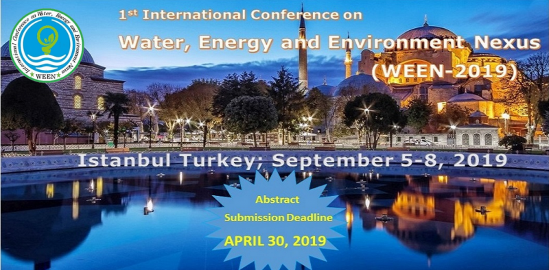 The objective of WEEN-2019 is to provide a platform for researchers, scientists, engineers, academicians as well as industrial professionals from all over the world to present their research results and development activities in Water, Energy & Environment. This conference provides opportunities for the delegates to exchange new ideas and application experiences face to face, to establish business or research relations and to find global partners for future collaboration.  As the premier event, we have developed a program with your interests in mind. We have not only increased the number of opportunities for you to network with colleagues from across the world but also introduced more focused sessions that will feature cutting edge presentations, special panel discussions, and livelier interaction with industry leaders and experts.