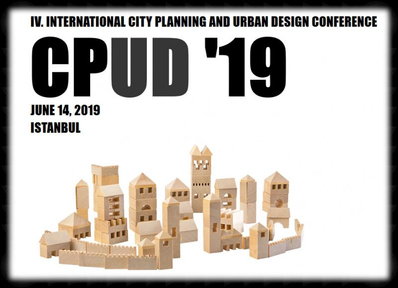 CPUD '19 / IV. International City Planning and Urban Design Conference will be held at Nippon Meeting Halls in Istanbul. The conference is coordinated by DAKAM (Eastern Mediterranean Academic Research Center) and will be organized by BILSAS (Science, Art, Sport Productions).     All abstracts are going to be selected according to double blind reviews and accepted papers will be published in the Conference Proceedings E-Book with an ISBN number that will be given to you in a DVD box during conference registration.  ​  Selected papers will be published in DAKAM's INTERNATIONAL JOURNAL OF ARCHITECTURE AND URBAN STUDIES (http://www.dakam.org/ijaus)     We invite you to join us at the event in Istanbul and would like to emphasize that proposals from different parts of the world are welcomed.