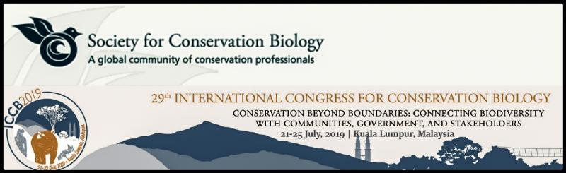 ICCB is a global forum for addressing conservation challenges and for presenting new research in conservation science and practice.  With more than 2,000 conservation professionals and students in attendance, ICCB is the major networking event for anyone interested in conservation.
