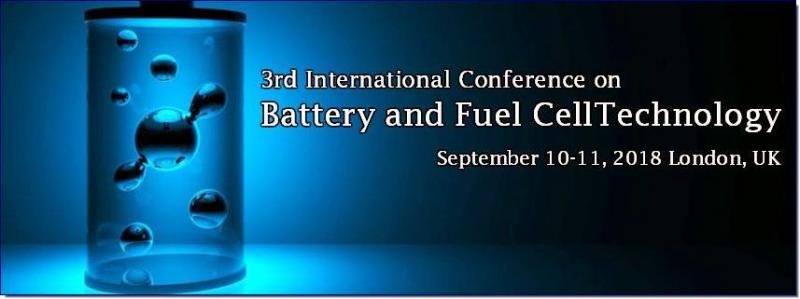 Battery Tech 2018 will impact an attractive moment to meet the people in the research field and development; therefore it takes a delight in opening a gate to meet the ability in the field, young researchers and potential speakers. The conference also includes essential topics on technologies related to batteries and fuel cells, especially on what we accomplished so far and what we will succeed in future. Our conference is going to deliver numerous keynote sessions, plenary speeches and poster presentations by the eminent scientists and students in the field of batteries and fuel cells. Through this we can achieve great knowledge in modern advancements of batteries and emphasize current challenges in battery and fuel cell technology.