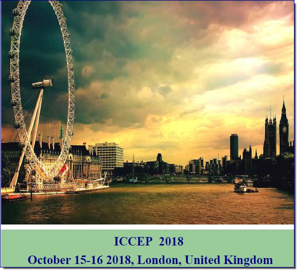 The ICCEP 2018 : 20th International Conference on Clean Energy and Power is the premier interdisciplinary forum for the presentation of new advances and research results in the fields of Clean Energy and Power. The conference will bring together leading academic scientists, researchers and scholars in the domain of interest from around the world. Topics of interest for submission include, but are not limited to: Carbon trading and taxation  Climate change and energy industry  Clean energy technologies  Design of energy markets  Distributed generation issues  Energy prices and uncertainties  Energy and sustainable development  Energy efficiency challenges  Energy and environmental policy  Energy demand and economic growth  Energy markets and regulation  Geopolitics of oil and natural gas  Greenhouse gas abatement costs and potentials  Integration of intermittent power sources  Investment issues in liberalized markets  Market power issues  Oil and gas transportation and pipelines  Oil reserves and production  Prospects of CCS technologies  Prospects for nuclear power  Prospects for alternative transportation fuels  Power and gas trade under volatile prices  Regulation and regulation uncertainties