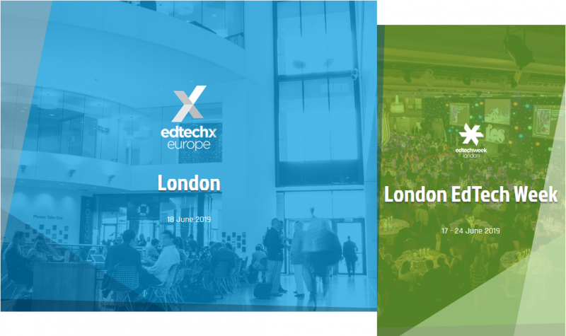 EdTechXEurope is the leading thought leader summit bringing together executive level investors, innovators and industry influencers from European and international education companies. Now in its fifth year, EdTechXEurope 2019 will connect 900+ global attendees and feature over 150+ speakers to showcase EdTech innovations and perspectives from around the world.
