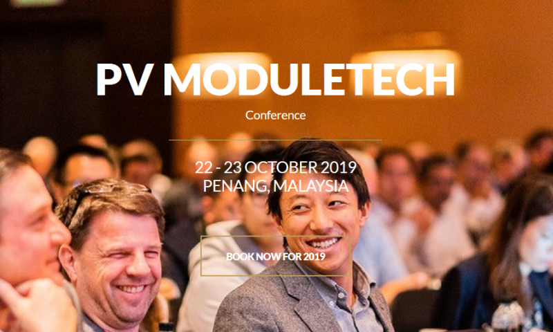 PV ModuleTech 2018 was a great success - a HUGE thank you to everyone that participated and made the event so good this year! We'll be updating the website very soon so do come back soon to find out what we have planned for the 2019 conference!  Super Earlybird tickets are already available for 2019 so you can save £800 if you register now and even more with our 3-for-2 offer.