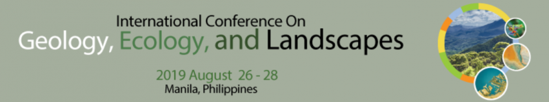International Conference on Geology, Ecology & Landscapes (ICOGEL) will be held between 26 -26 August 2019 in Manila, Philippines. An exceptional technical conference  with presentations by key academia and industry figures combine to offer exceptional networking, business and educational opportunities to all professionals with an interest for future development in geosciences. This combination of local and international expertise ensures that the programme is highly technical with leading edge science brought together from around the world mixed with local knowledge from the region's leading geoscientists.  The ICOGEL conference is organized and developed by the International water, Air & Soil Conservation Society (INWASCON), Malaysia