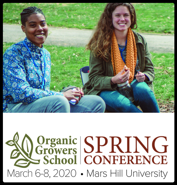 The Spring Conference is a one-of-a-kind event that offers regionally specific workshops on organic growing and sustainable living. Our mission is to provide down-to-earth, practical advice while remaining affordable and accessible.  Thank you for a great 2019 Spring Conference. We look forward to seeing you again in 2020!