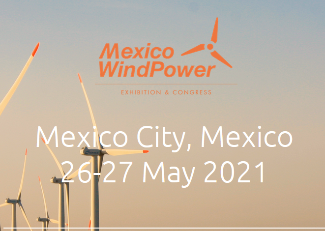 Mexico occupies the 16th position in the world and 2nd in Latin America in wind potential. Mexico WindPower® 2021 is the most influential annual event in the wind industry in Mexico and will reach its 10th edition in 2021. It is co-organized by AMDEE (Mexican Wind Power Association), GWEC (Global Wind Energy Council) and Tarsus Mexico.