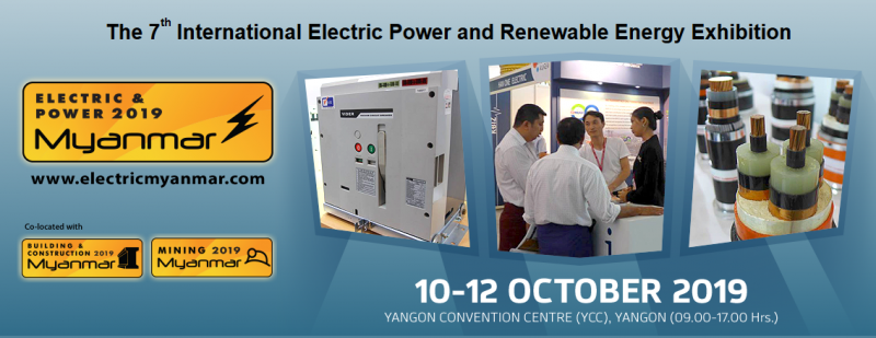 The 7th International Electric Power and Renewable Energy Exhibition Co-located with:      The 7th International Building and Construction Exhibition     The 7th International Mining and Minerals Recovery Exhibition