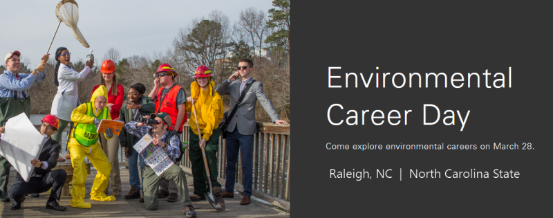We invite high school freshman, sophomores, and juniors to explore environmental majors at NC State through this unique experience. Join us on Saturday, March 28 for a day designed for those seeking a career solving our greatest environmental challenges. During the day, attendees will:      Attend a majors fair to explore environmentally-focused degrees at NC State     Engage in hands-on activities directly related to College of Natural Resources (CNR)     Meet and interact with current students     Learn about the admissions process and requirements     Attend alumni and current-student panels
