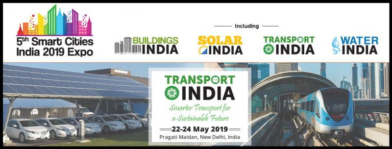 Indian cities are home to millions of vehicles, contributing to traffic congestion, air pollution and inadequate parking infrastructure and operations. There is a need to address challenges like inadequate capacity of public transportation, road safety, poor traffic management, parking issues, poor infrastructure and lack of modal options (including pedestrian walkways). Transport India 2019 expo will address and showcase end-to-end future solutions for smart transport in the country.