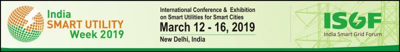 India Smart Grid Forum has been organizing its flagship annual event, India Smart Grid Week (ISGW) since 2015. The 4th edition of ISGW was held from 05 to 09 March 2018. From the overwhelming feedbacks we received, ISGW 2018 was an astounding success, attended by over 2200+ delegates and 245 speakers from 38 countries.  With the appreciation and motivation received from our stakeholders we are expanding the horizons of ISGW. With the inclusion of Gas Distribution and Water Distribution Utilities which are equally relevant in the Smart City domain, we are transforming the India SmartGrid Week (ISGW) to India Smart Utility Week (ISUW) in 2019. We are happy to announce that we have finalized 12 – 16 March 2019 as the dates for ISUW 2019.  ISUW 2019 will be organized as an International Conference and Exhibition on Smart Energy and Water for Smarter Cities. ISUW 2019 will bring together India's leading Electricity, Gas and Water Utilities, Policy Makers, Regulators, Investors and world's top-notch Smart Energy Experts and Researchers to discuss trends, share best practices and showcase next generation technologies and products in smart energy and smart cities domains. ISUW 2019 will include plenaries, interactive workshops, keynotes, and techn