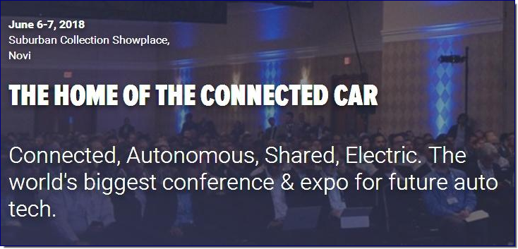 2017 saw 150 speakers, a 200,000 sq ft exhibition and 3250 attendees. In 2018, TU-Automotive Detroit will be even bigger & better. You can expect:  TU-Automotive Detroit Conference  The world's largest conference on automotive technology this year will feature in-depth tracks on ADAS & Autonomous Vehicles, Smart Cities & Urban Mobility, Connected Services, Data and more.