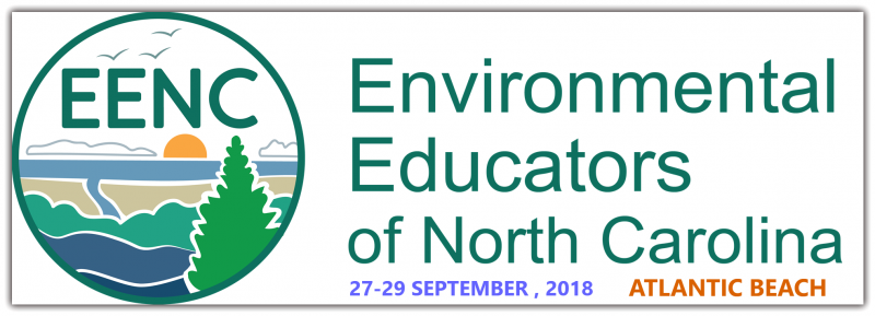Join us for the 2018 Environmental Educators of North Carolina conference at the Doubletree by Hilton in Atlantic Beach, NC from Thursday, September 27th to Saturday, September 29th.  Enjoy the conference full of professional development, networking, learning, and field experiences that will help you expand your knowledge of EE and resources in NC and beyond. Consider bringing your family and spending Saturday afternoon and Sunday at the  beach!