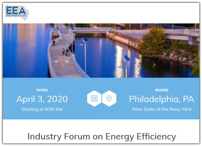 Industry Forum on Energy Efficiency Healthcare | Food Service | Higher Ed