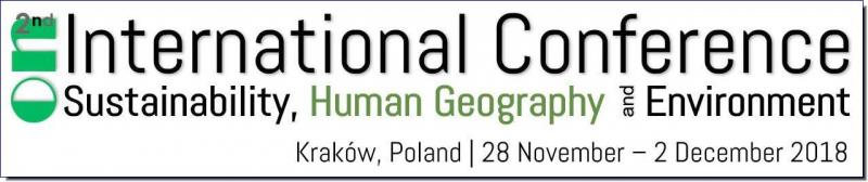 The 2nd International Conference on Sustainability, Human Geography and Environment 2018 (ICSHGE18) will debut in the Central European touristic city of Kraków, Poland. The aim of ICSHGE18 is to bring together a top field of researchers, scientists, engineers, scholarly students and persons from local and international businesses and governmental organisations. The conference targets individuals and organisations to exchange and share their experiences, novel ideas and research findings regarding all aspects of sustainability, human geography, the environment and interdisciplinary societal studies – and discuss the practical challenges encountered and solutions adopted during such experimentation. The format of the conference will have simultaneous dual-platform presentations, workshop sessions, an exhibition of poster presentations as well as tours of the city, Auschwitz-Birkenau Museum, Wieliczka Salt Mine and a research excursion to Zakopane and Tatra Mountains National Park.