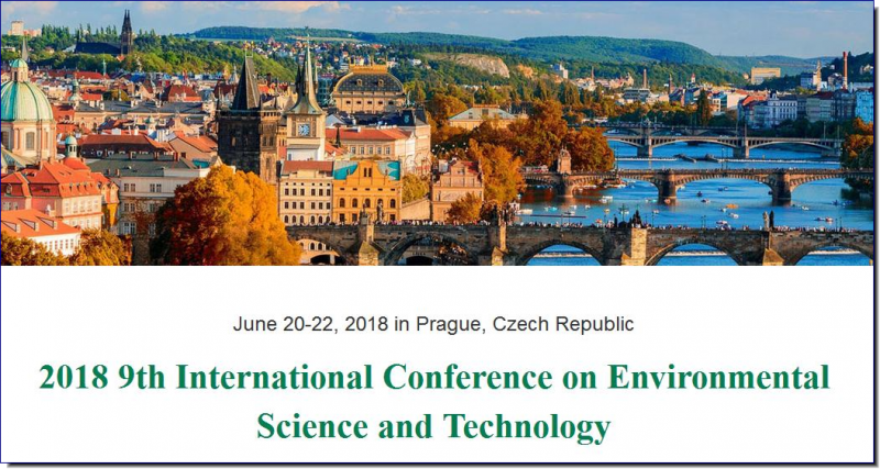 The primary goal of the conference is to promote research and developmental activities in Environmental Science and Technology. Another goal is to promote scientific information interchange between researchers, developers, engineers, students, and practitioners working in Czech Republic and abroad. The conference will be held every year to make it an ideal platform for people to share views and experiences in Environmental Science and Technology and related areas.