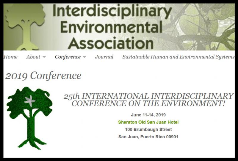 "The conference is motivated by the increasing need to combine ideas and research findings from different disciplines to enhance our understanding of the interactions between the natural environment and human institutions. Conference presentations focus on:      What all disciplines have to offer with respect to understanding environmental and resource problems;     Possible solutions that are available;     The implications of the globalization of environmental concerns.  The conference welcomes environmental academics, practitioners, and interested colleagues regardless of discipline or country. Participants may organize sessions (please ask for ""Panel Organizer Guidelines""), present papers, participate in poster sessions, chair sessions, discuss papers, participate in roundtable discussions, or simply observe."