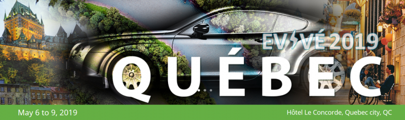 Electric Mobility Canada (EMC) invites you to the 10th annual national event, taking place in Quebec City, Quebec from May 6th to 9th 2019.  Mark your calendar from May 6th to 9th 2019 for the EVent of the year!