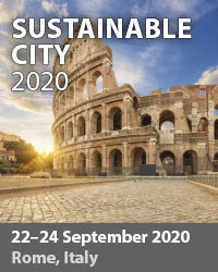 The Sustainable City Conference addresses the multidisciplinary components of urban planning, the challenges presented by the increasing size of the cities, the number of resources required and the complexity of modern society.
