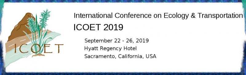 Join us for the tenth biennial ICOET conference hosted by the California Department of Transportation (Caltrans) and California Department of Fish and Wildlife, with support from the US DOT Federal Highway Administration. ICOET is the foremost interdisciplinary, inter-agency supported conference addressing the broad range of ecological issues related to transportation systems in all modes.The conference is organized by the Road Ecology Center (UC Davis), with assistance from the UC Davis Institute of Transportation Studies and the National Center for Sustainable Transportation at UC Davis.