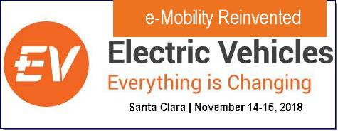 November 14-15 2018, Santa Clara. Electric Vehicles: Everything is Changing will reveal the latest advances and newest roadmaps in this radically changing industry. We balance the presentations from the giants with new faces revealing important breakthroughs. IDTechEx finds the companies and researchers that break the mould. Read more at: https://www.idtechex.com/electric-vehicles-usa/show/en/