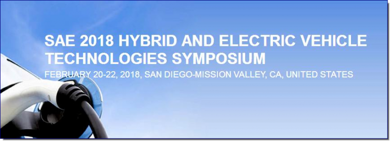 The SAE Hybrid & Electric Vehicle Technologies Symposium addresses critical information on both the technical developments in electric vehicle technologies, as well as the business decisions surrounding development and implementation. Additionally, it offers attendees the chance to meet with those industry experts and technology specialists from the entire supply chain of EV, HEV and EREV to engage in dialogue about the topics of greatest interest.  In this premier HEV/EV event, attendees learn about the technology OEM hybrid and electric vehicles, powertrain technologies and components, and about supporting technologies like advanced energy storage and charging systems.