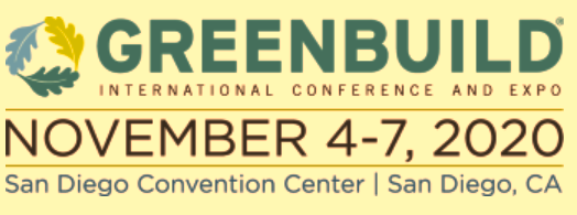 Greenbuild International Conference and Expo is the largest annual event for green building professionals worldwide to learn and source cutting edge solutions to improve resilience, sustainability, and quality of life in our buildings, cities, and communities.