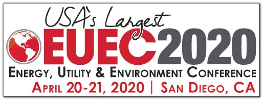 EUEC 2020: the 23rd annual energy, utility & environment conference will be April 20-21, 2020. Now accepting Reservations to Exhibit and Abstracts to Speak at EUEC 2020      Over 1,700 attendees network at 8 lunches, receptions and breaks held in the 150 company exhibit area     Over 400 presentations are made by experts in 10 track